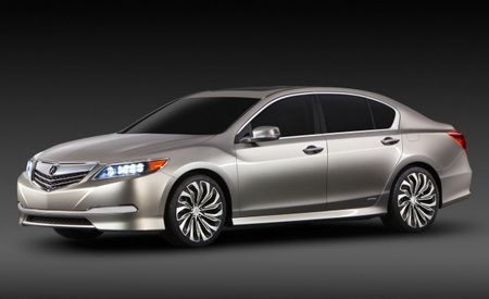 Acura RLX to Debut at L.A. Auto Show