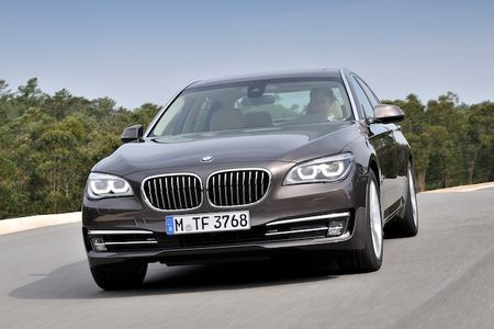 BMW's 2013 ActiveHybrid 7 EPA Numbers Released: Infringing on 3-series Territory