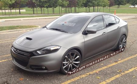 2013 Dodge Dart R/T Spotted in Matte Gray, Might Reach Production [Spy Photos]