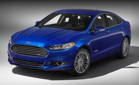 2013 Ford Fusion Hybrid Titanium Priced from $32,995, $2000 More Than Gas-Powered Model