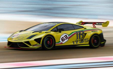 Lamborghini Reveals Updated 2013 Gallardo LP570-4 Super Trofeo Race Car