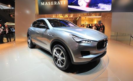 Maserati Confirms Levante and Ghibli Names for SUV and New Sedan [2012 Paris Auto Show]