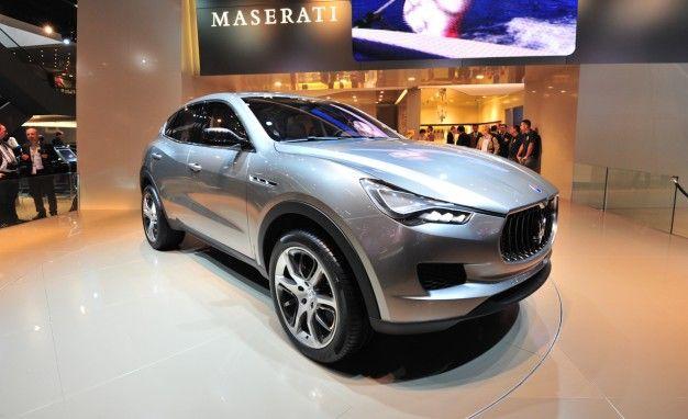 Maserati Confirms Levante and Ghibli Names for SUV and New Sedan [2012 Paris Auto Show]