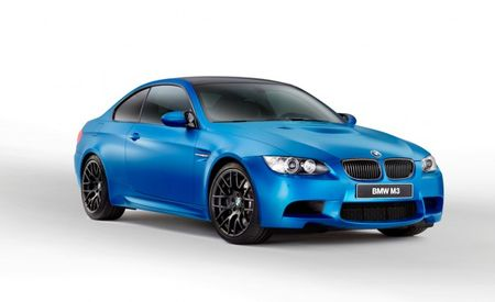 BMW Introduces 2013 M3 Coupe Frozen Limited Edition (Now Available in Three Matte Colors!)