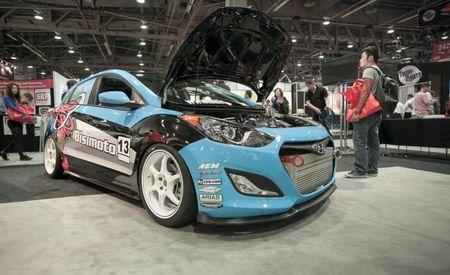 Bisimoto Engineering Gives Hyundai Elantra GT 600 hp [2012 SEMA Show]