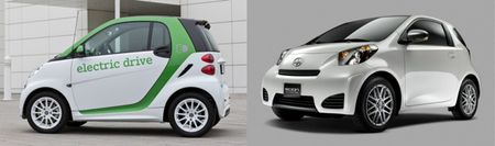 Scion iQ EV Smacks Down Smart Electric Drive in New EPA Ratings