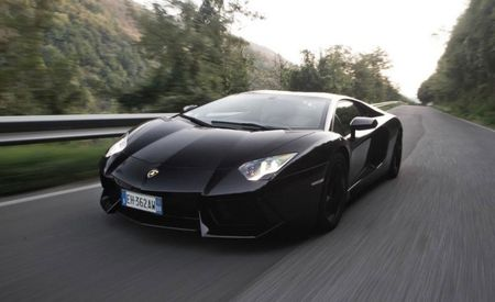 2013 Lamborghini Aventador Adds Cylinder Deactivation and Stop-Start