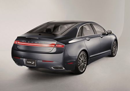 2013 Lincoln MKZ Gets EPA Ratings, Hybrid Rings In at 45 mpg