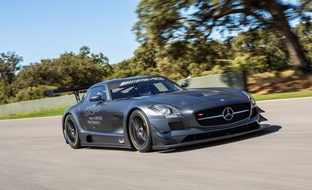 Mercedes Hawking Five Special SLS AMG GT3 Race Cars to Celebrate 45 Years of AMG