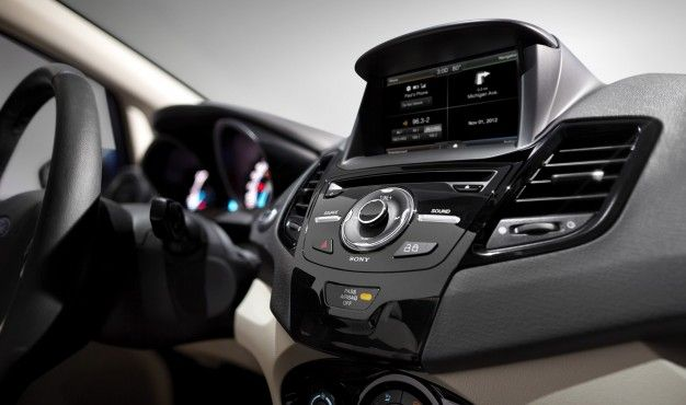 The Small Touch: MyFord Touch Confirmed for 2014 Fiesta [2012 L.A. Auto Show]