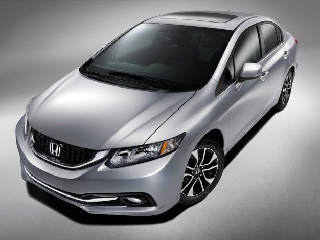 Honda Releases First Images of Redesigned 2013 Civic Sedan Ahead of Debut [2012 L.A. Auto Show]