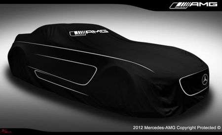 Mercedes-Benz Teases 2014 SLS AMG Black Series Ahead of Tonight's Late-Night Debut