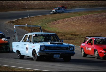 24 Hours of LeMons Veteran '66 Plymouth Belvedere Still Going Strong: This Is How You Do It