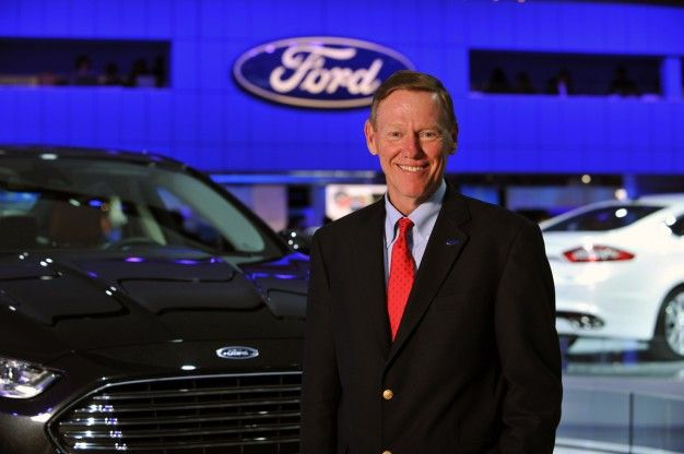 Ford: CEO Alan Mulally Stays On Through At Least 2014, Mark Fields Promoted to COO