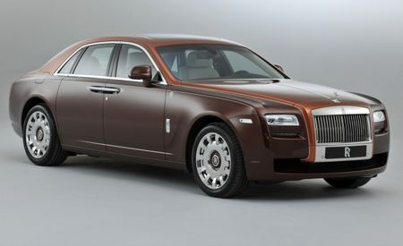 Rolls-Royce One Thousand and One Nights Ghost Collection: For the Sheik Who Has Everything