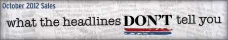October 2012 Sales: What the Headlines Don't Tell You