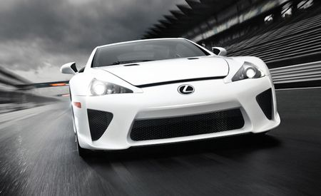 So Long, Most Confusing Lexus Ever: 500th and Final Lexus LFA Built, Production Run Over