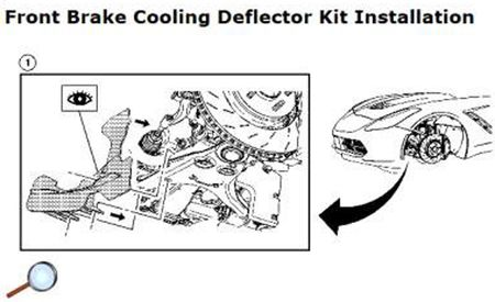 2014 Chevy Corvette Service Manual Entry Leaks Out, Shows Clever Brake Cooling Spat and Front-End Styling