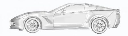 Boxing Day Surprise: 2014 C7 Corvette Drawings Slip Out