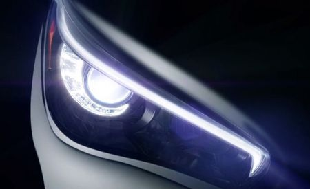 Infiniti Shows Off Upcoming Q50's Headlight (That's the New G to the Rest of Us) [2013 Detroit Auto Show]