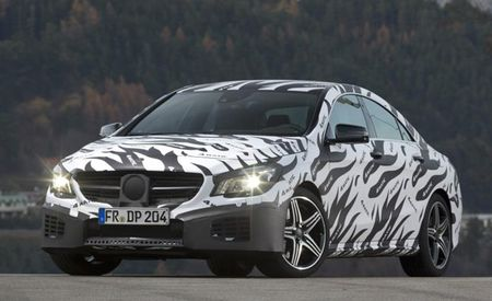 "Mercedes-Benz AMG Posts ""Spy Photos"" of 2014 CLA45 AMG Online"
