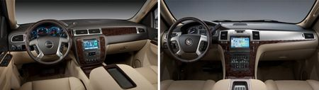 GM to Further Differentiate Interiors and Exteriors of Redesigned SUV Family