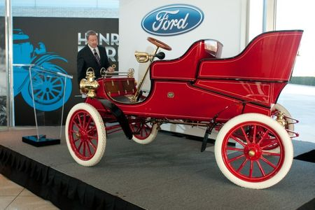 World's Oldest Surviving Production Ford Comes Home: Bill Ford's New 1903 Model A