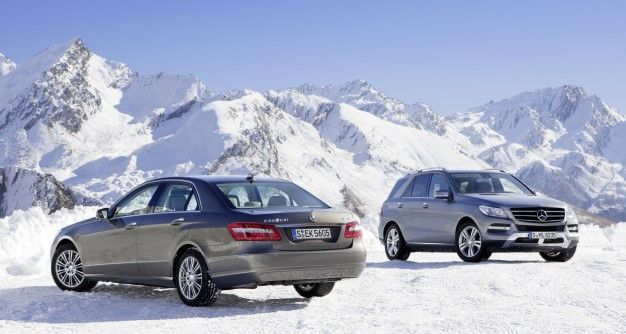 Mercedes to Launch Four-Cylinder Diesel E250 4MATIC, ML250 Here Next Year