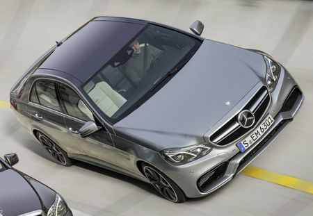 Mercedes-Benz E63 AMG Photo Drops Ahead of Motown Debut [2013 Detroit Auto Show]