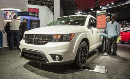 Dodge Blackens Its Minivan and Crossovers with Blacktop Packages [2013 Detroit Auto Show]