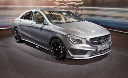 2014 Mercedes-Benz CLA250 Photos and Info: Benz's Neonatal CLS-class Debuts [2013 Detroit Auto Show]