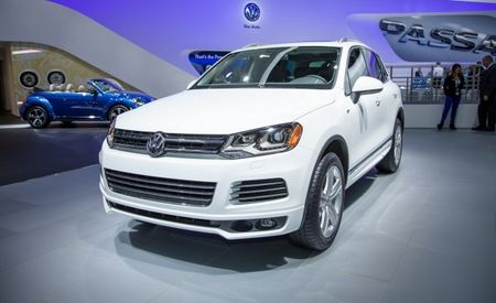 Volkswagen Adds R-Line Trim to 2014 Tiguan and Touareg Models [2013 Detroit Auto Show]