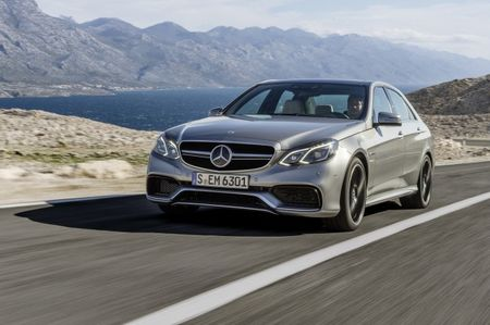 Stealthy Business Line Exterior Package to be Offered for Euro-Spec 2014 Mercedes-Benz E63 AMG