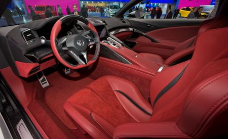 Acura Shows Off Updated NSX Concept—Now with Interior! [2013 Detroit Auto Show]