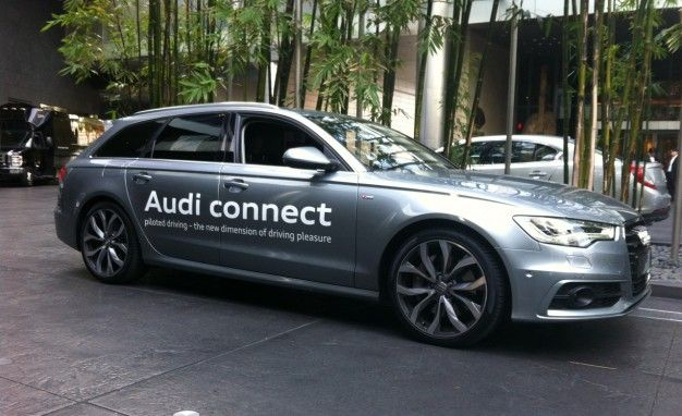 We Go For A Ride In Audis Piloted Driving Autonomous A Avant - Audi piloted driving