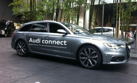"We Go for a Ride in Audi's ""Piloted Driving"" Autonomous A6 Avant Prototype [2013 CES]"