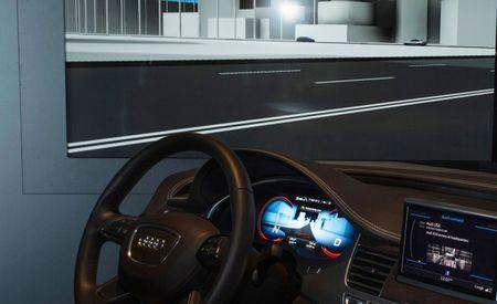 Audi at CES: Driverless Auto Parking, Matrix LED Headlamps, Next-Gen Infotainment, 3D Audio [2013 CES]