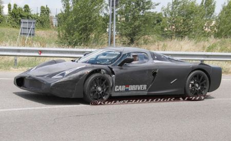 Details of Ferrari F150 Supercar Slip Out of Private Event