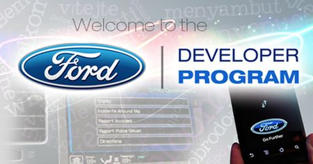 Ford Opens AppLink API to Developers, Announces Raft of New Sync-Compatible Apps [2013 CES]