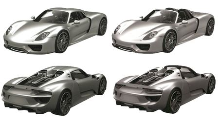 Porsche 918 Coupe and Spyder Patent Drawings Appear in European Database