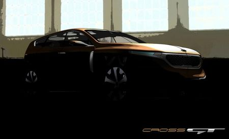 Kia Previews Cross GT Large Crossover Concept [2013 Chicago Auto Show]
