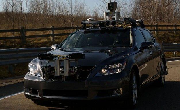 Autonomous Lexus LS Sedan Revealed, Detailed [2013 CES]