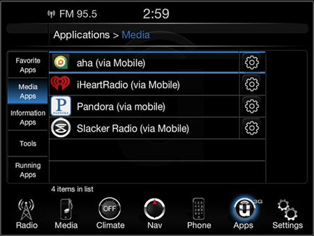 Chrysler Introduces Updates to Uconnect Infotainment System [2013 CES]