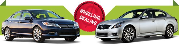 The Question: 2013 Honda Accord Touring or 2013 Infiniti G37 Journey for $500/Month? [Lease Throwdown!]