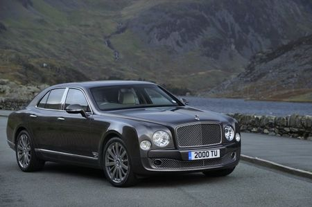 Swank Bentley Mulsanne Getting Even Swankier for 2014 [2013 Geneva Auto Show]