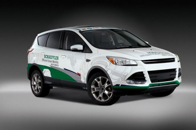 German Supplier Equips Ford Escape to be 15-Percent More Fuel Efficient