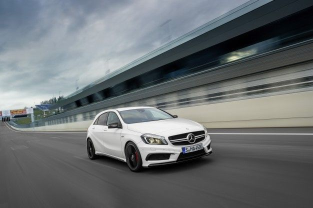 2014 Mercedes-Benz A45 AMG: Forget Hot Hatch, This Is a Fire-Breathing Five-Door [2013 Geneva Auto Show]