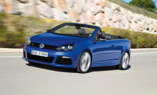 Volkswagen Drops the Roof on 265-hp 2013 Golf R Cabriolet [2013 Geneva Auto Show]