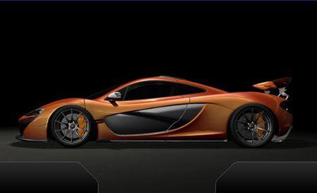 McLaren Again Previews 2014 P1 Supercar, Shows Fancy Gauge Cluster [2013 Geneva Auto Show]