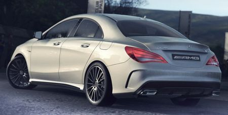 """2014 Mercedes-Benz CLA45 AMG: Launch Timing and First Official """"Photo"""""""